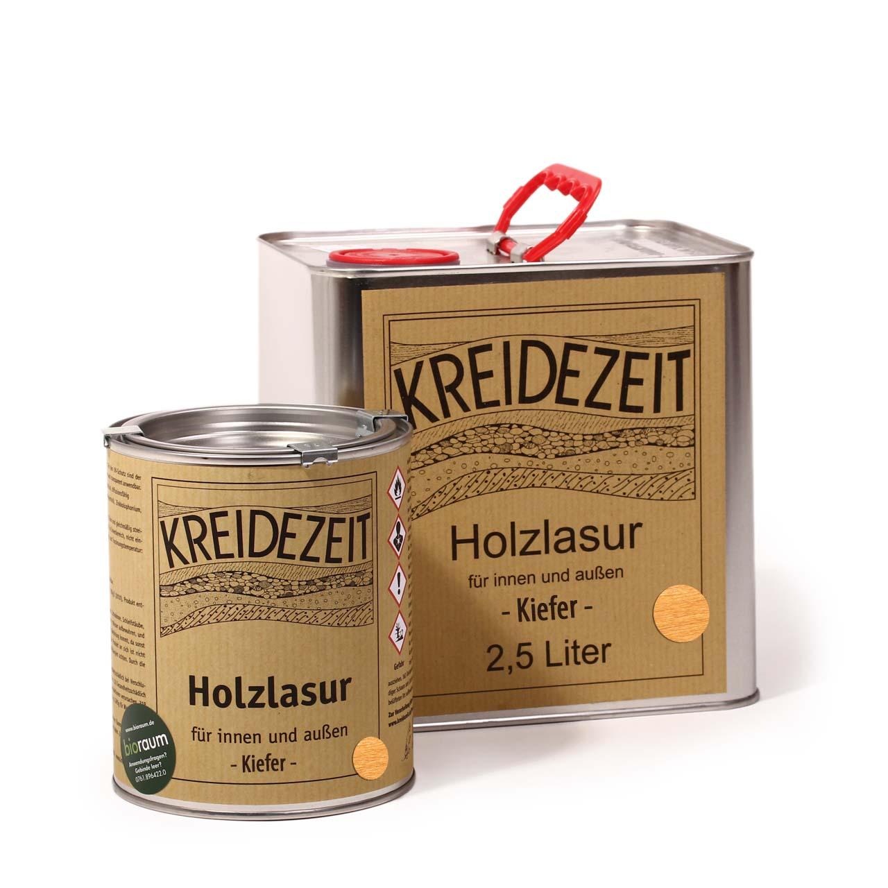 Gut bekannt Kreidezeit Holzlasur Kiefer   Kreidezeit Naturfarben Shop von Bioraum DK28