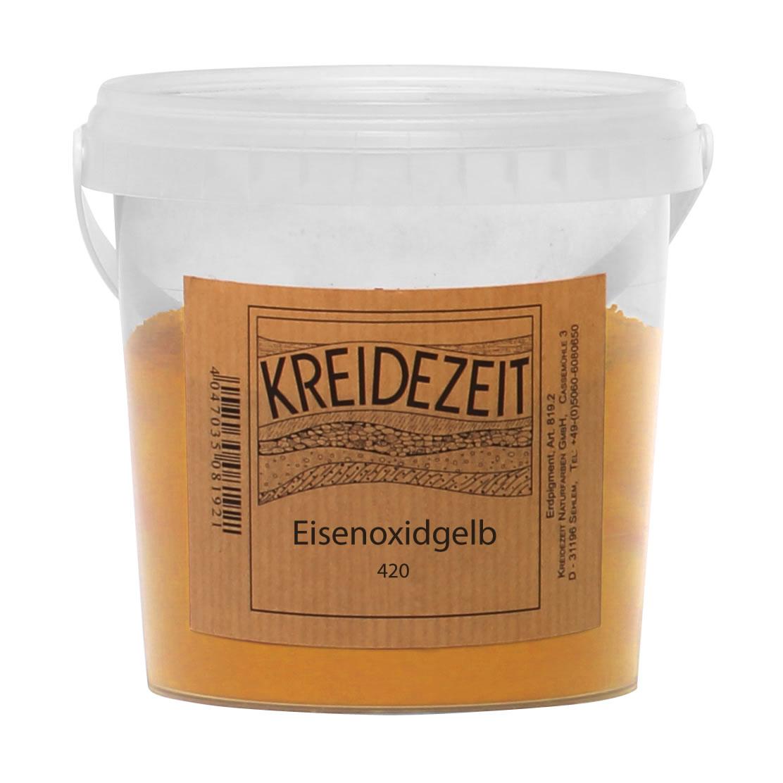 Eisenoxidgelb 420 Pigment | gelbe Pigmente | Naturpigmente ...