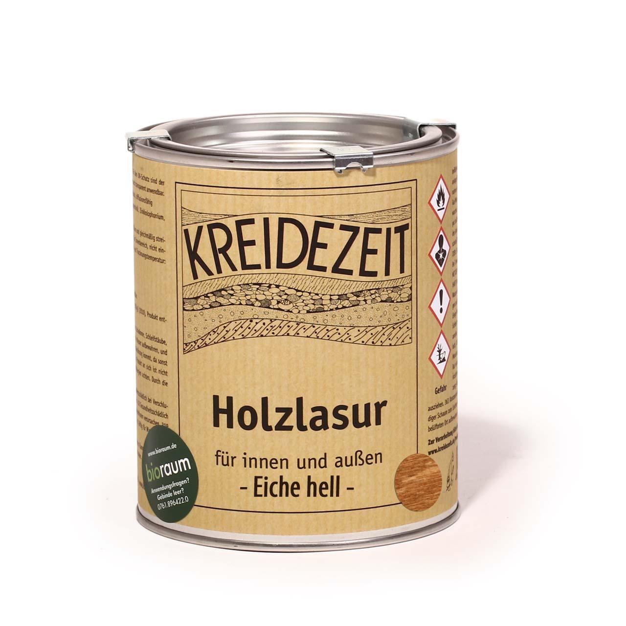 Kreidezeit Holzlasur Eiche Hell Kreidezeit Naturfarben Shop